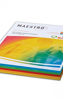 "Бумага А4 250л ""Maestro Color INTENSIVE Mixed Packs"" 80гр/м2 (набор)"